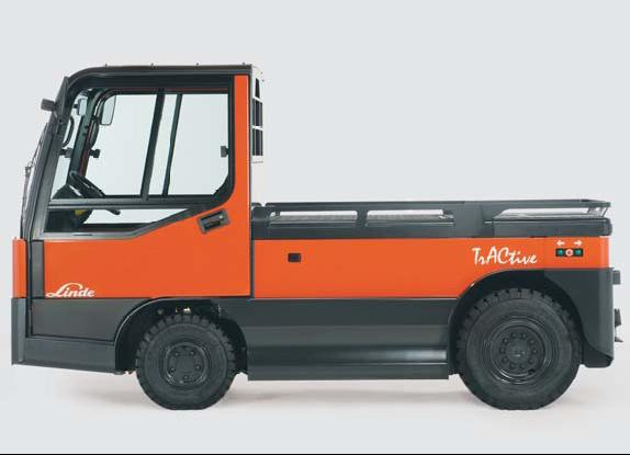Linde Tow Tractor : Linde material handling tow tractors p overview