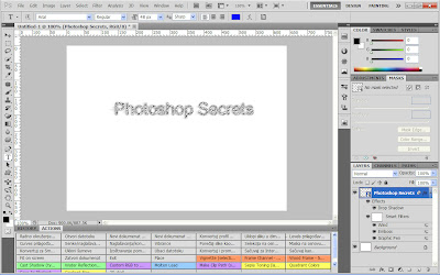 Smart Object layer in Adobe Photoshop