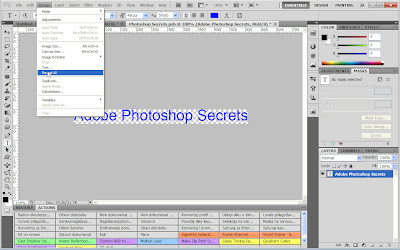 Use Reveal All command in Adobe Photoshop