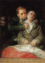 Auto-retrato de Goya com hemiplegia aps acidente vascular enceflico