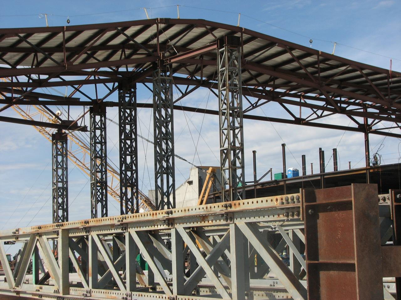 Spaceport America Construction Status Terminal Hangar