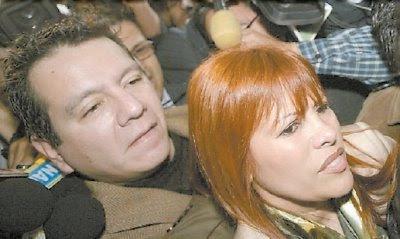 Ney Guerrero y Magaly Medina