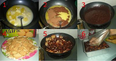 Resepi Bondaku: kek batik Biskut Marie