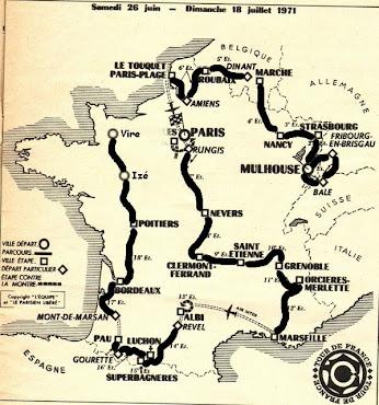 Mon tour de France 1971