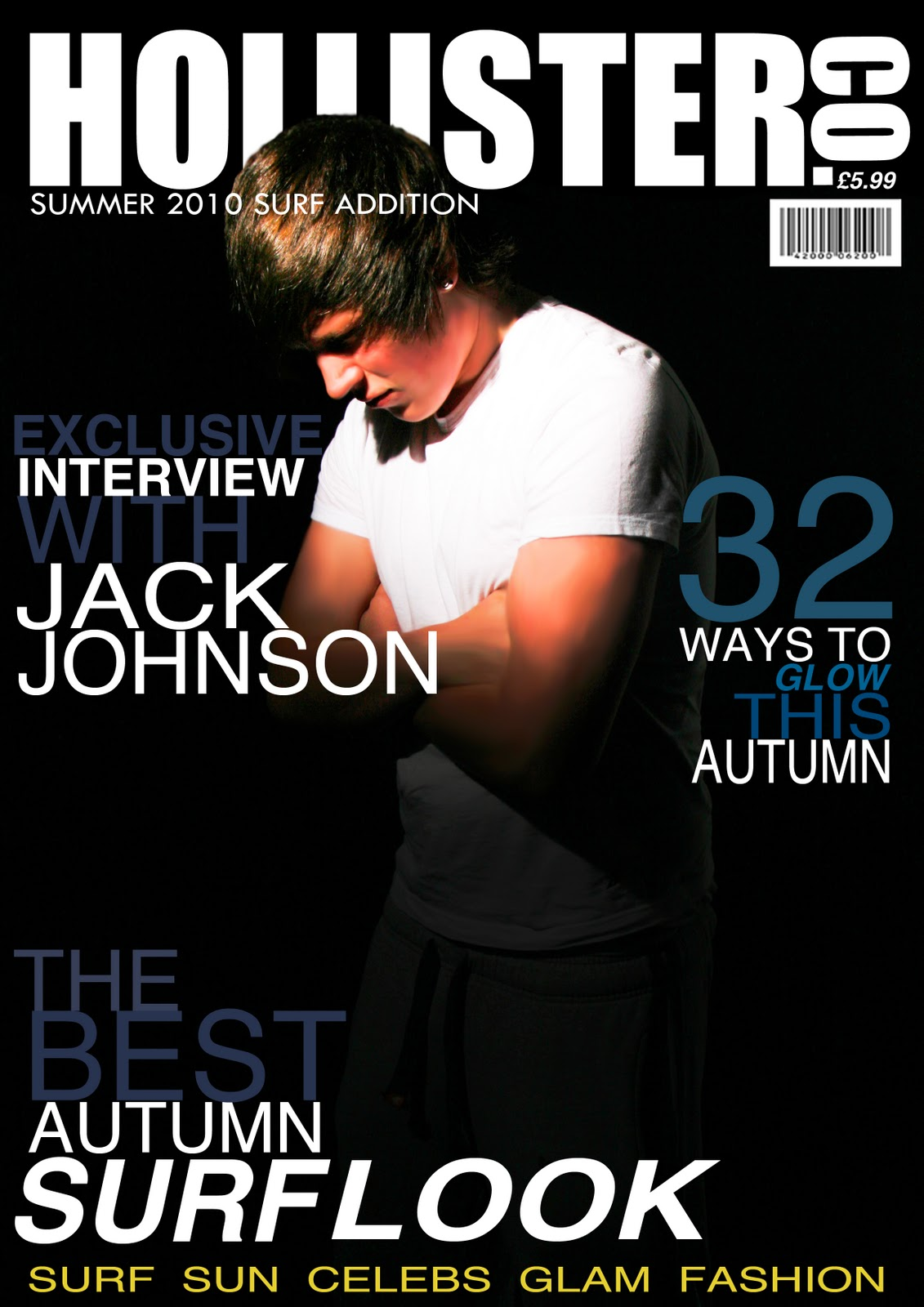 Magazine cover design brief