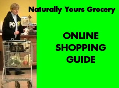 Naturally Yours Grocery online shopping guide