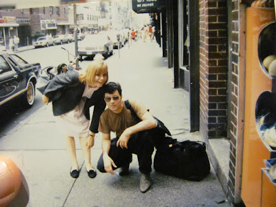 Steven E. Streight with Amy Durkholz NYC 1984