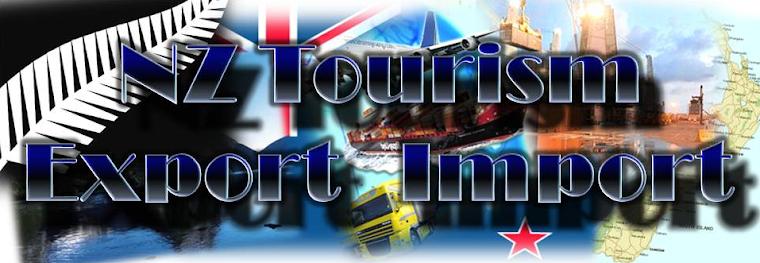New Zealand - tourism, export import
