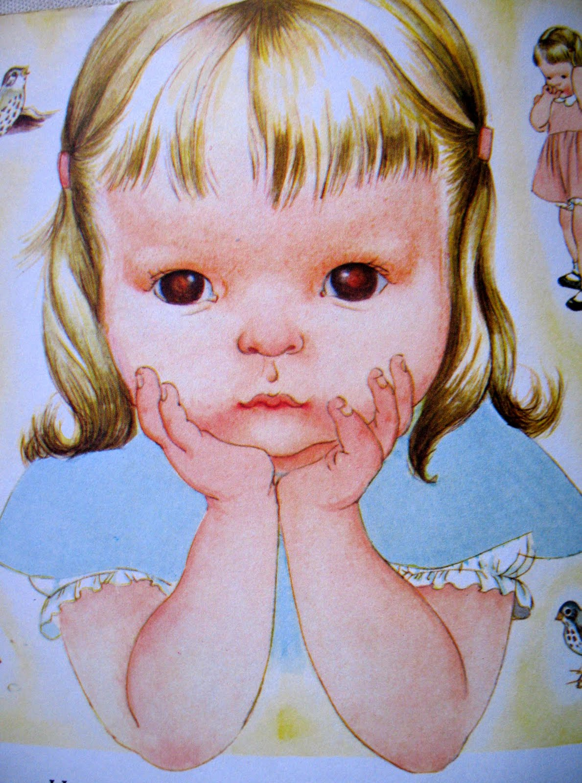 Eloise Thinking (creepy)