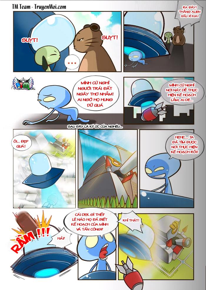Tiểu Đội UFO EXTRA Chap 2 - Trang 8