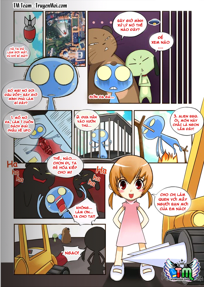 Tiểu Đội UFO EXTRA Chap 2 - Trang 9