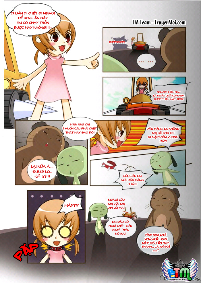 Tiểu Đội UFO EXTRA Chap 2 - Trang 10