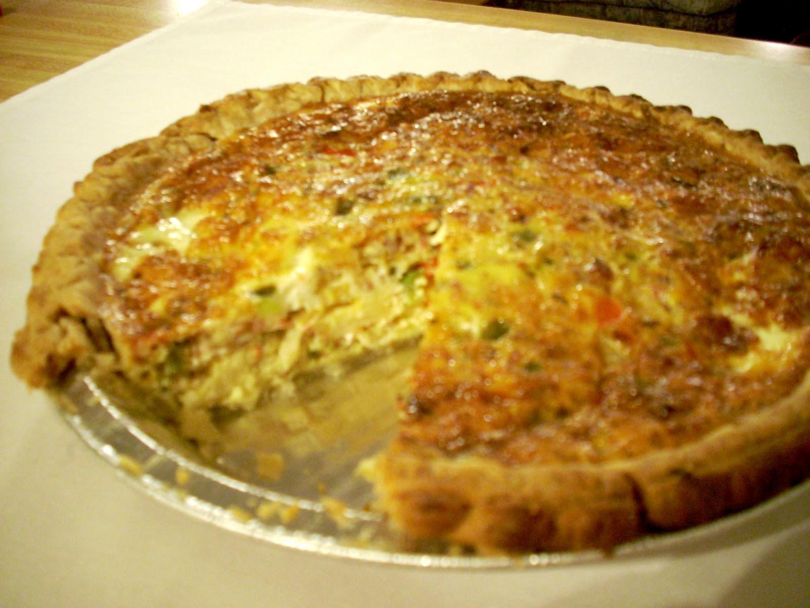 Texas Toast & Artichokes: Southwest Quiche Lorraine