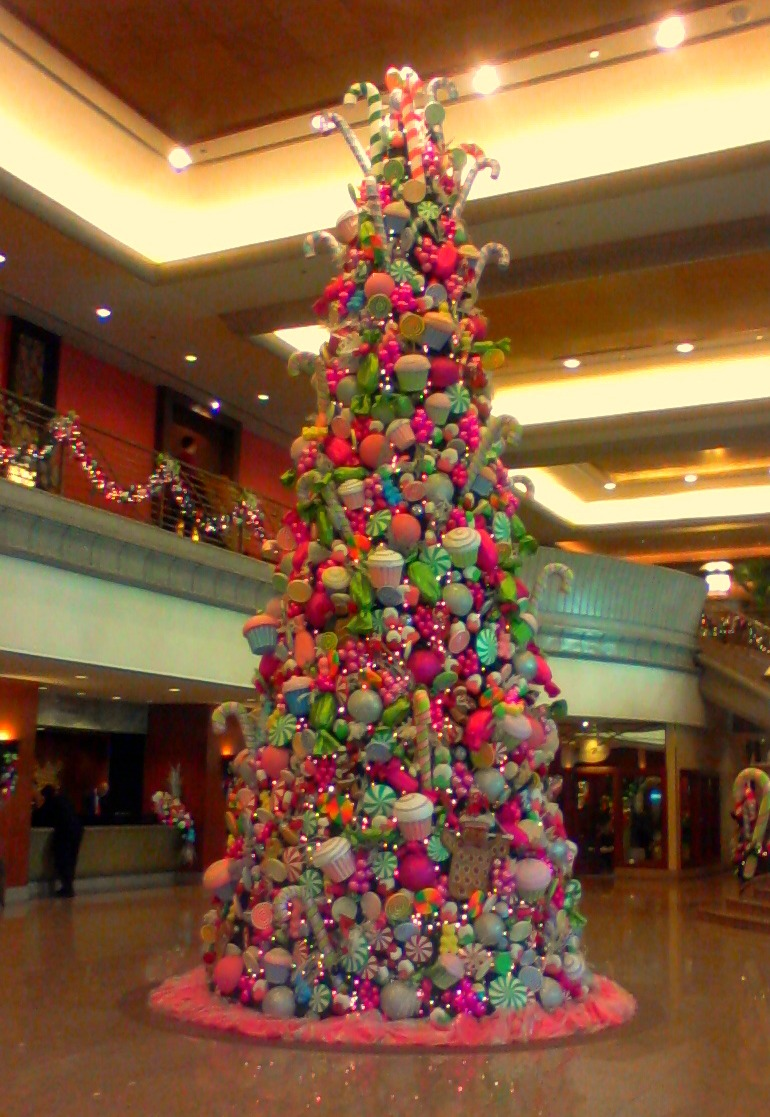 candyland christmas at new world renaissance hotel