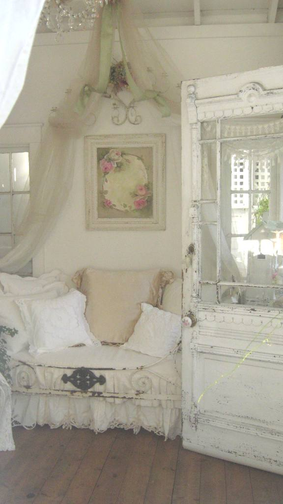 cindy ellis art our garden house in romantic country magazine. Black Bedroom Furniture Sets. Home Design Ideas