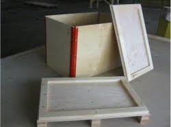 Inka palets barcelona 5 caja de madera contrachapada - Madera contrachapada precio ...