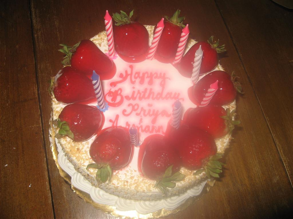 Cake Images For Priya : Sen-sible thoughts: Happy birthday Armaan!