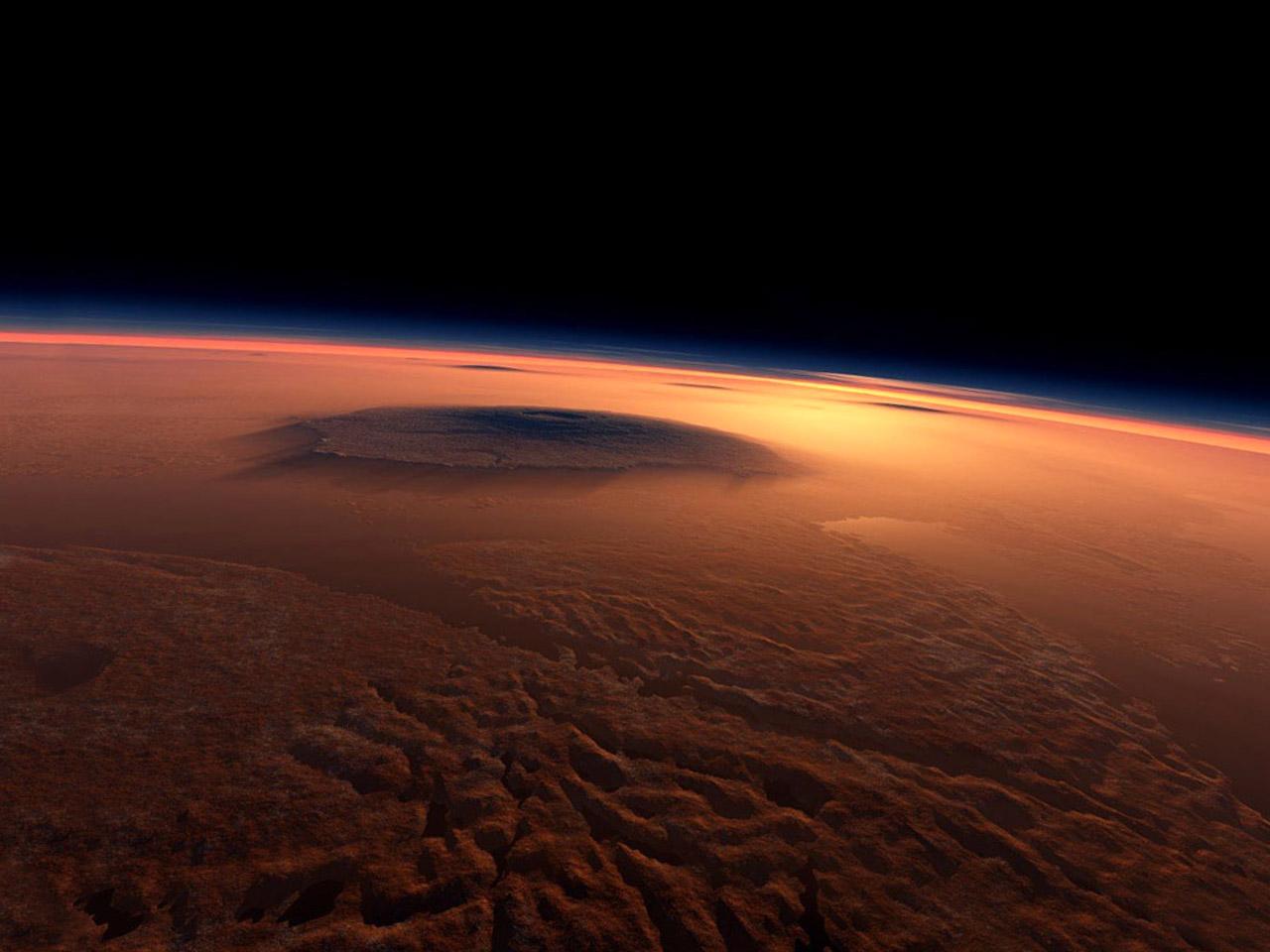 planet mars olympus mons - photo #24