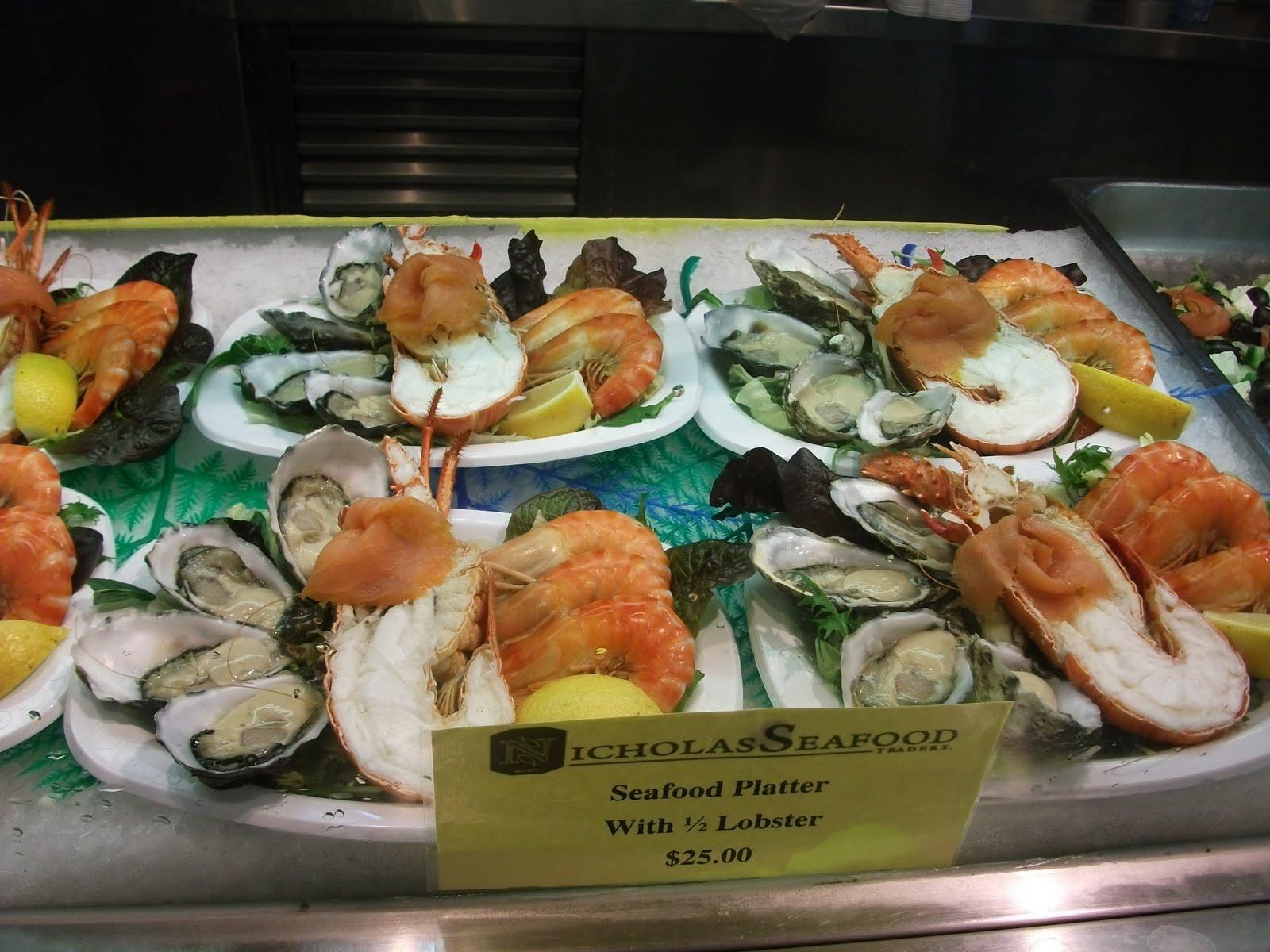 Queen lucii fish markets for Fish market queens