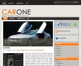 CarOne Blogger Template