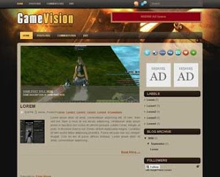 Game Vision Blogger Template