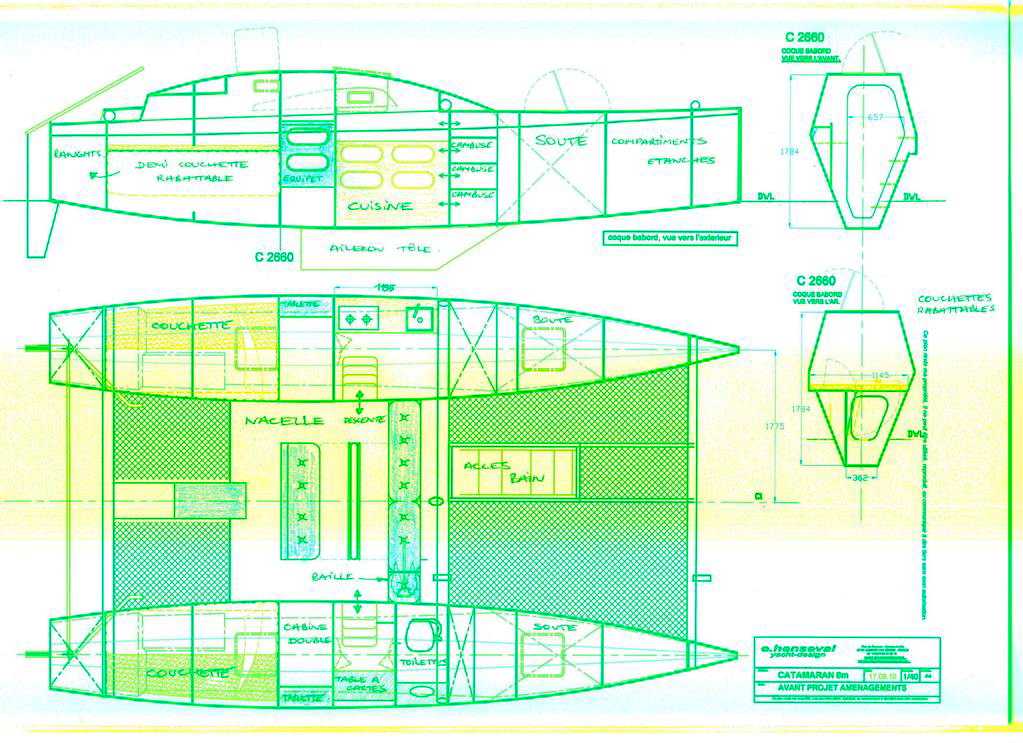 Catamaran boat plans Diy ~ Seen Boat plan