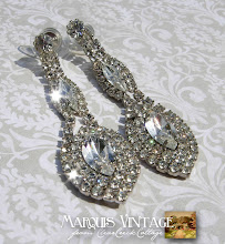 """Marquis Vintage"" Earrings (Sold)"