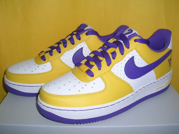 709a108e977 datingsiluv  Nike Air Force 1 Kobe Bryant In Yellow And Purple