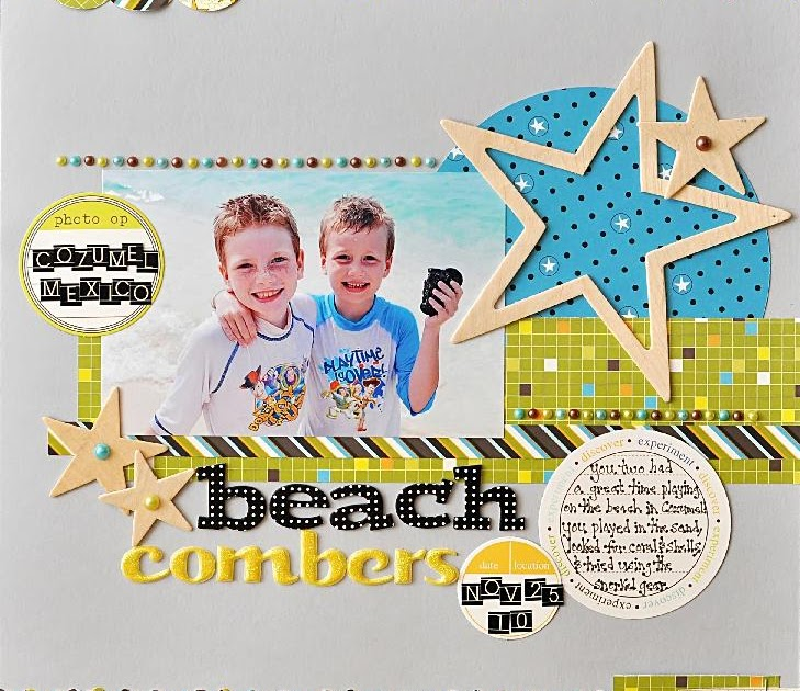 Ginger Williams: One Scrapbook.com Layout to Share Today...