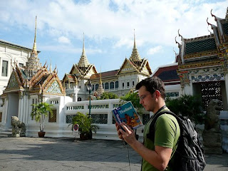 backpacker thailand