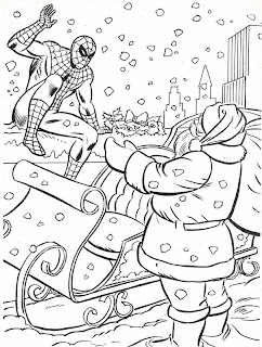 Neato Coolville: 1984 MARVEL SUPER HEROES\' CHRISTMAS COLORING BOOK