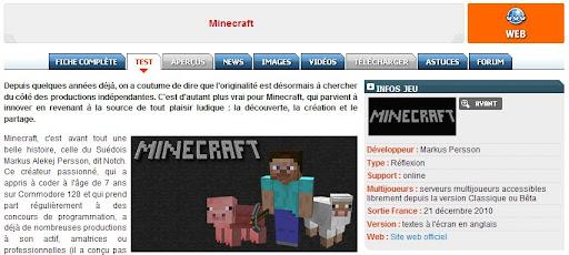 Test Minecraft