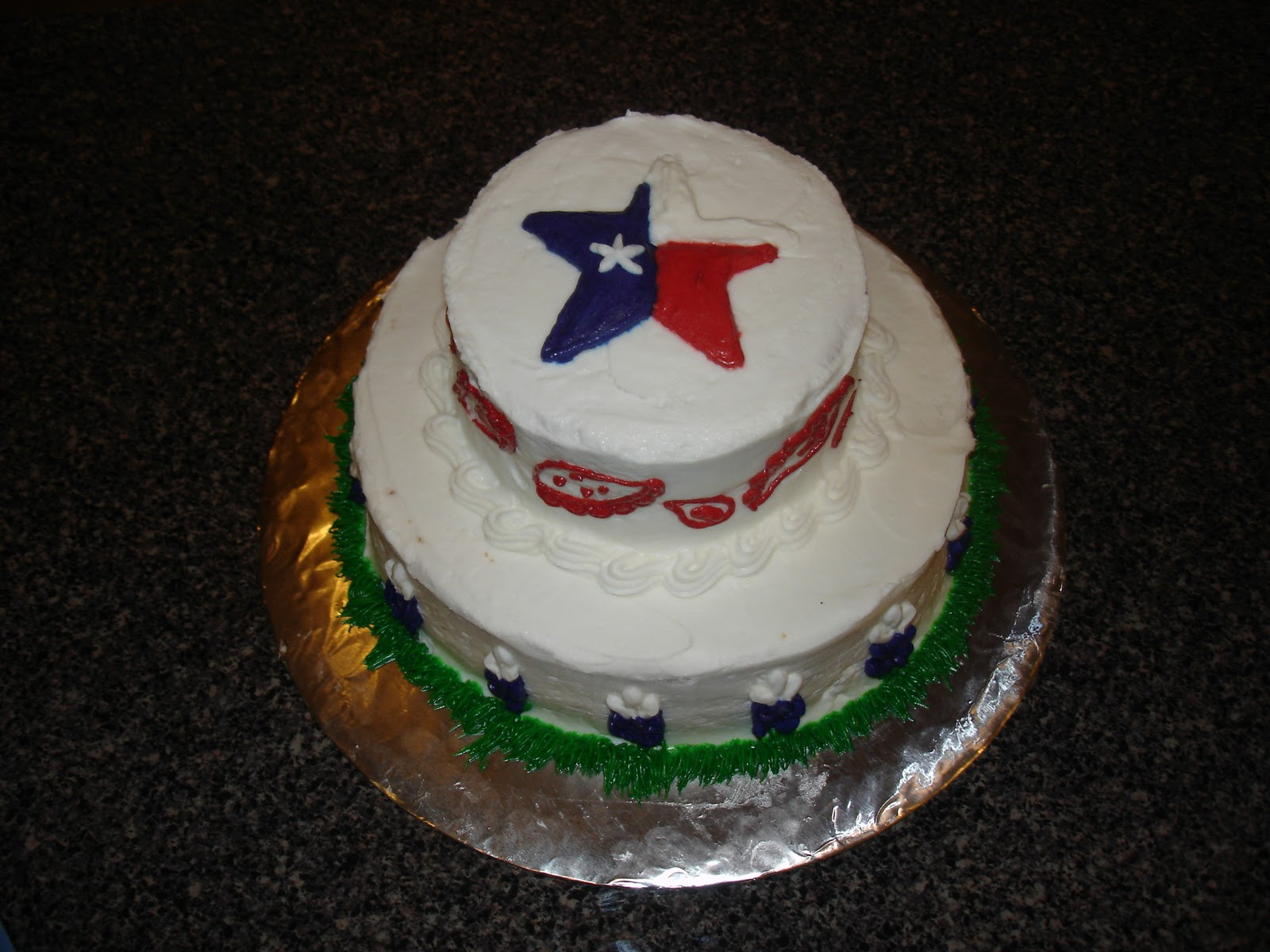 Cake Decorating Classes Usa : Adventures in Colorado: Texas Beginnings: Going Away Party