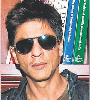 Shahrukh Khan sports funky