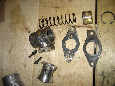 Blow off valve assembly