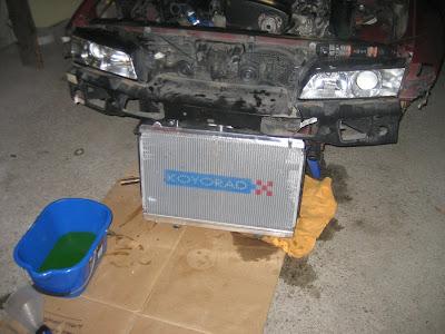 Koyo Aluminum Alloy Radiator