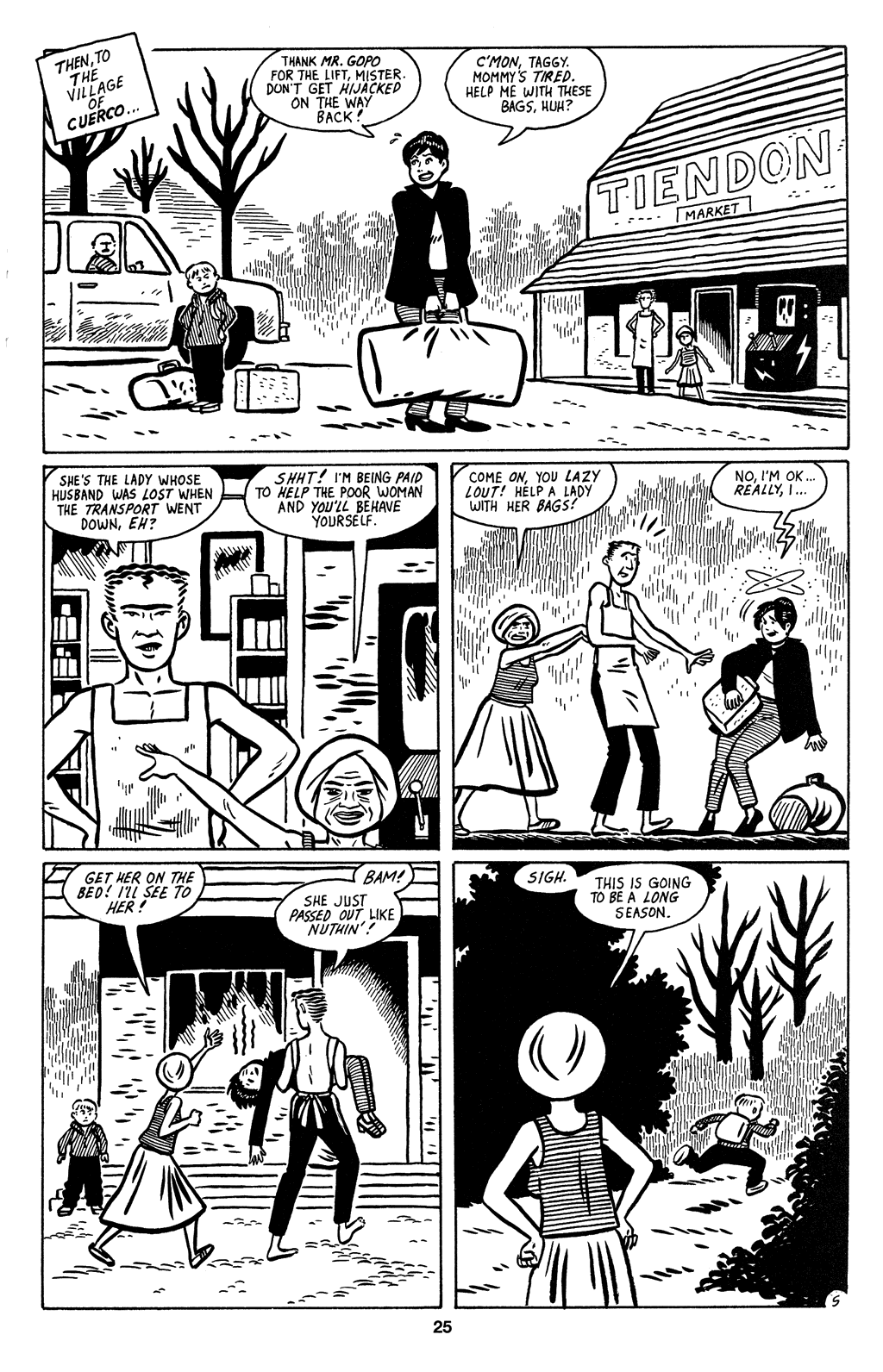 Read online Love and Rockets (2001) comic -  Issue #2 - 27
