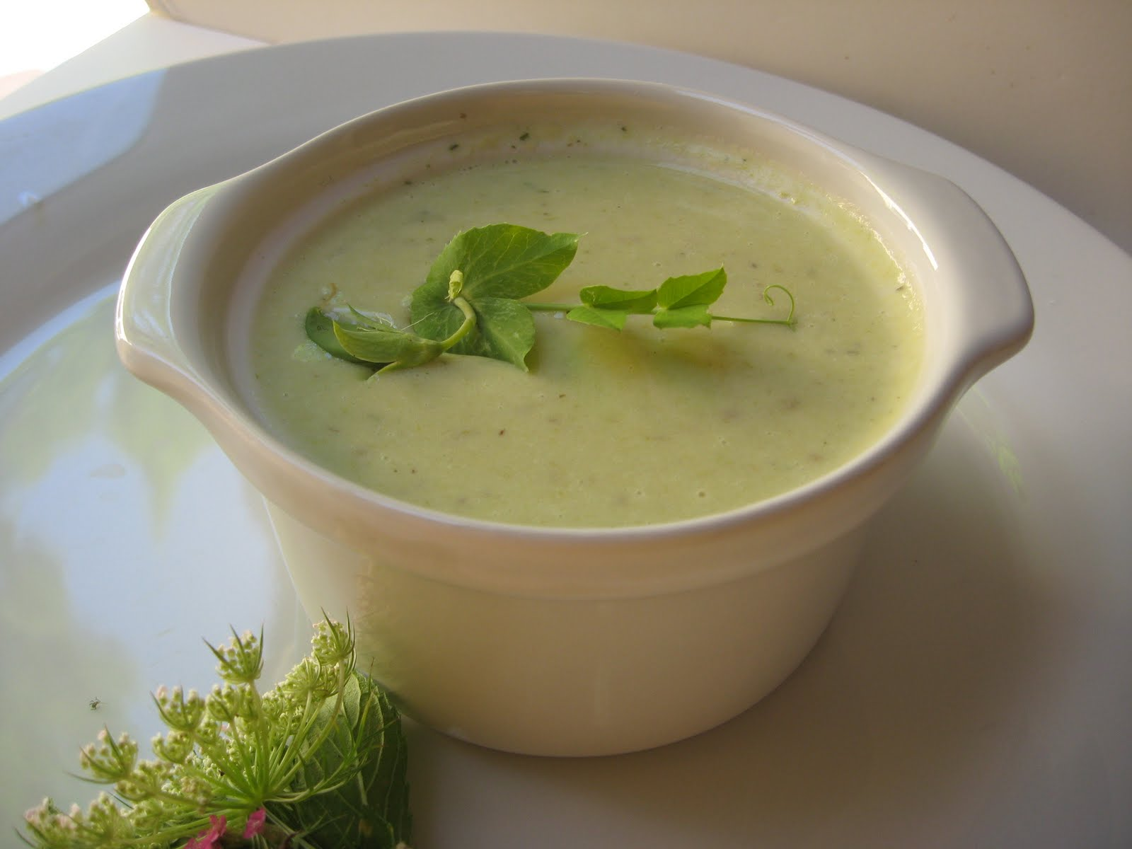 she's in the kitchen: chilled vichyssoise: leek and potato ...