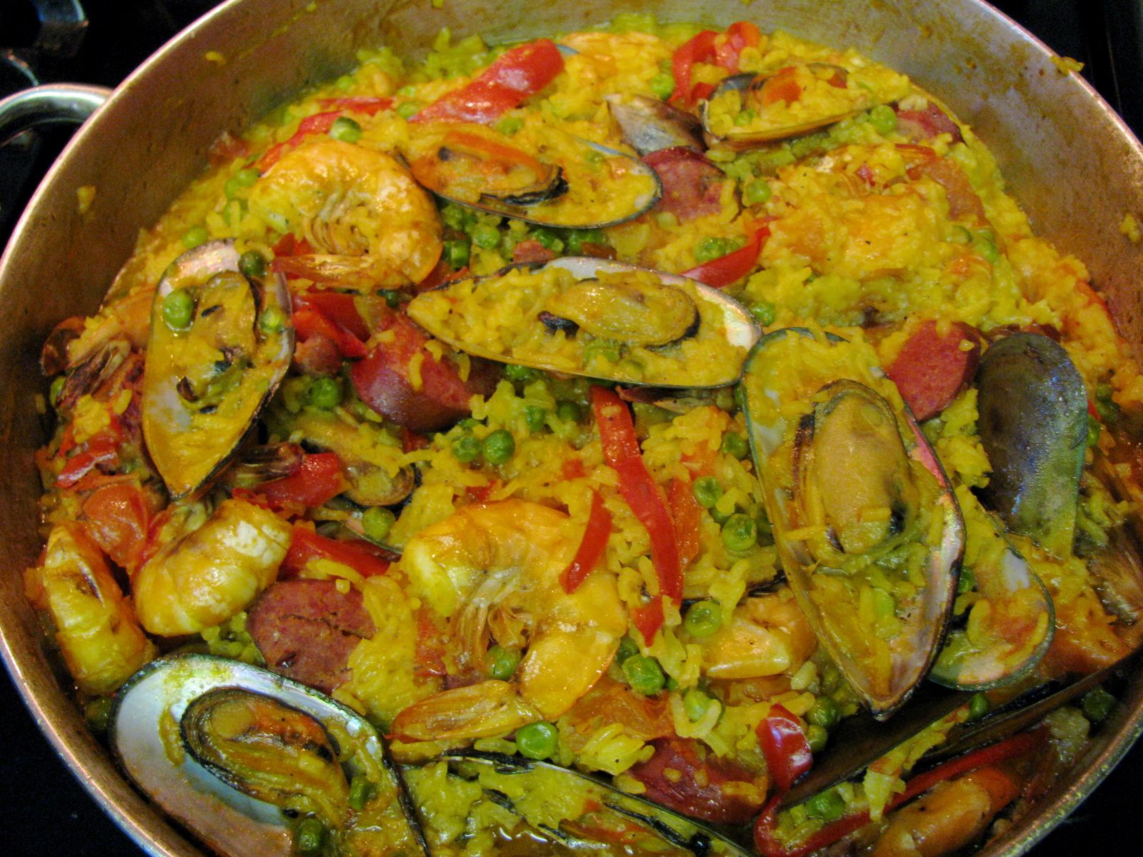 PASSION ON THE STOVE TOP: Seafood Paella