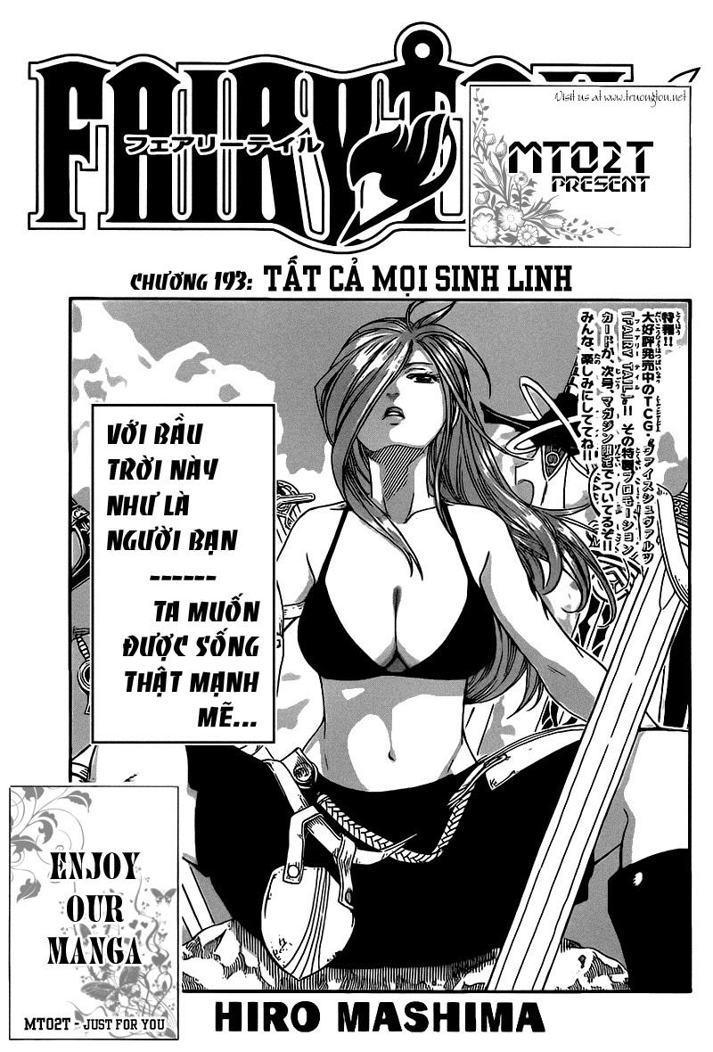 Fairy Tail chap 193 page 1 - IZTruyenTranh.com
