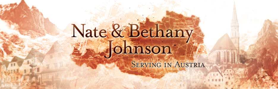 Nate and Bethany Johnson - Serving in Austria