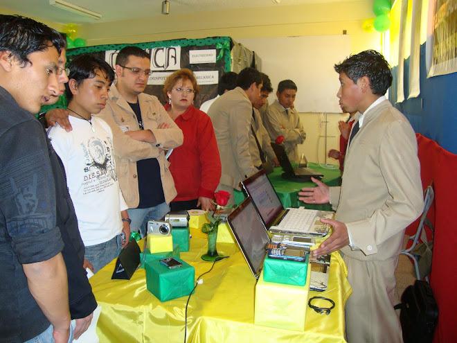 PARTICIPACION EN III FERIA DE INNOVACIÓN CIENCIA Y TECNOLOGÍA 2010