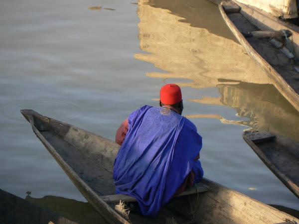 Man in a Blue Boubou