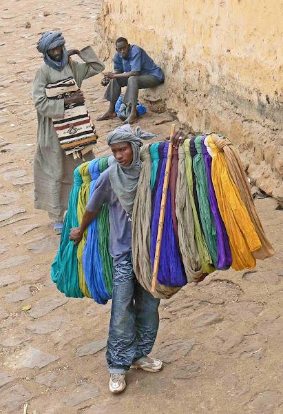 Turban Seller in Mopti