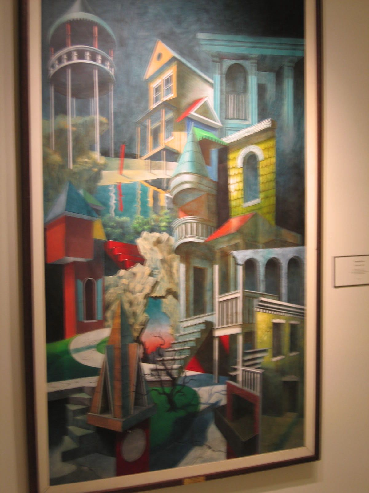 Philip koch paintings another gem in maryland umuc 39 s for Doris middleman