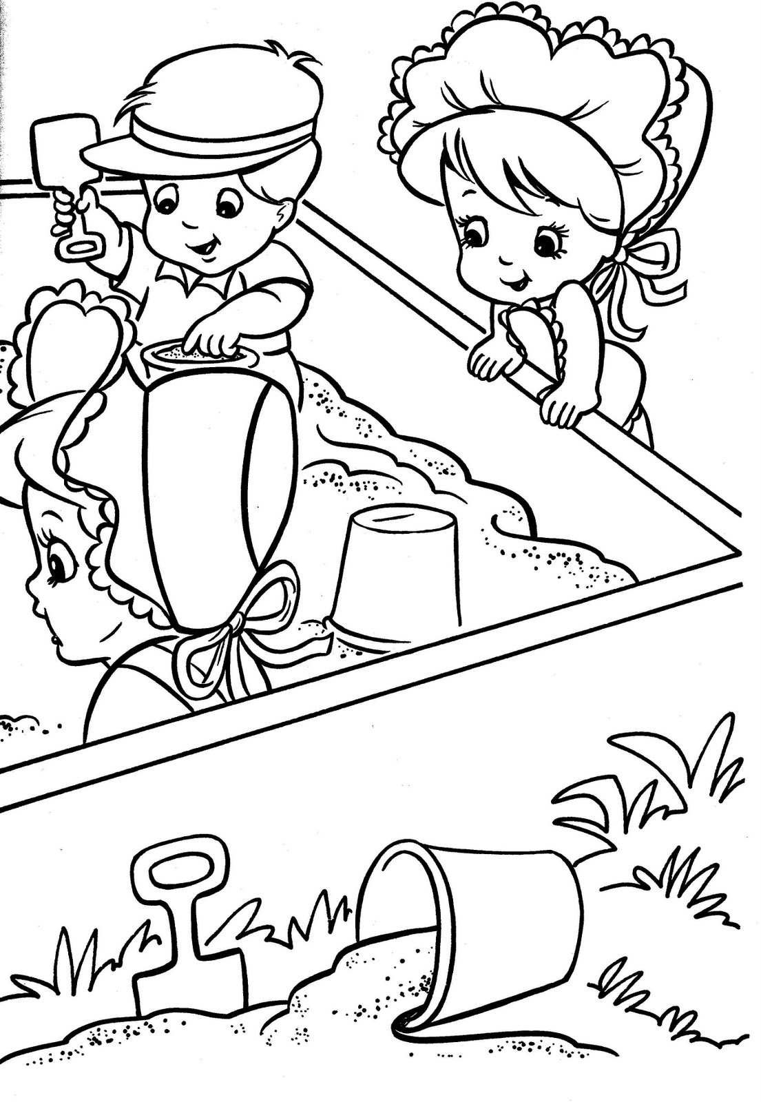 just for fun i had my daughter scan the book click on the images below to see the tyco quints coloring pages
