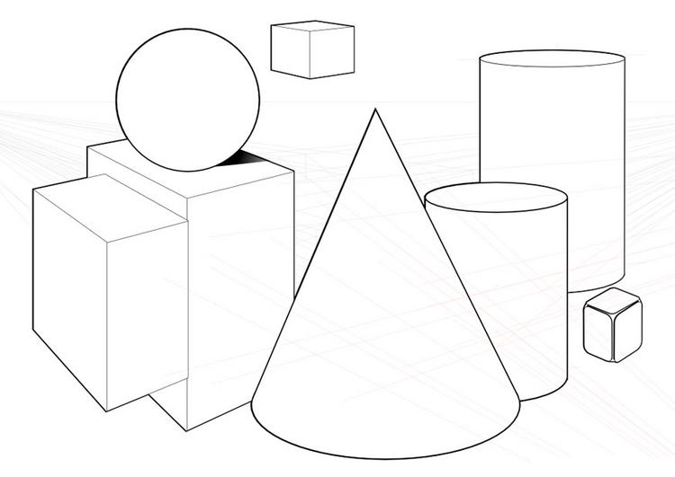 printable geometrical shapes
