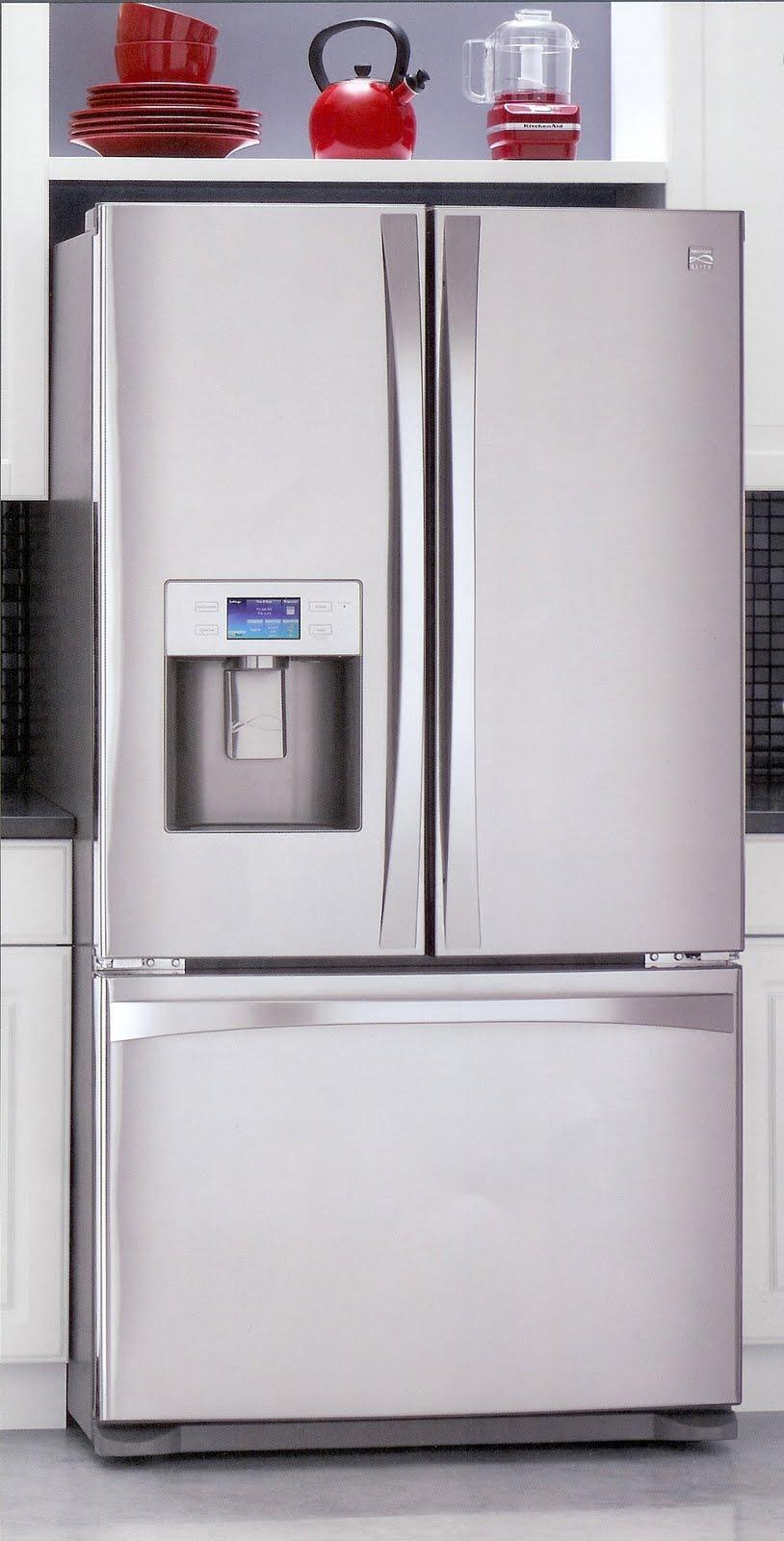 Appliance Information New 2010 Kenmore Fridges