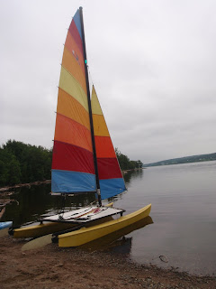 HobieCat 16 on the St. John River