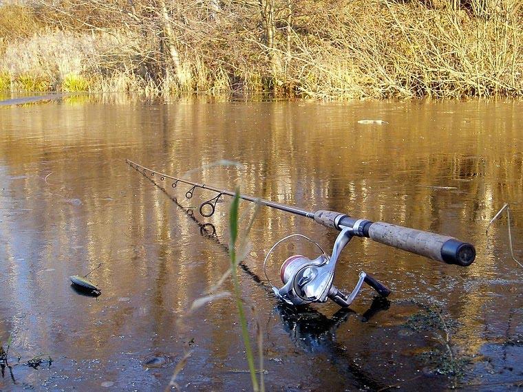 третьяк на рыбалке